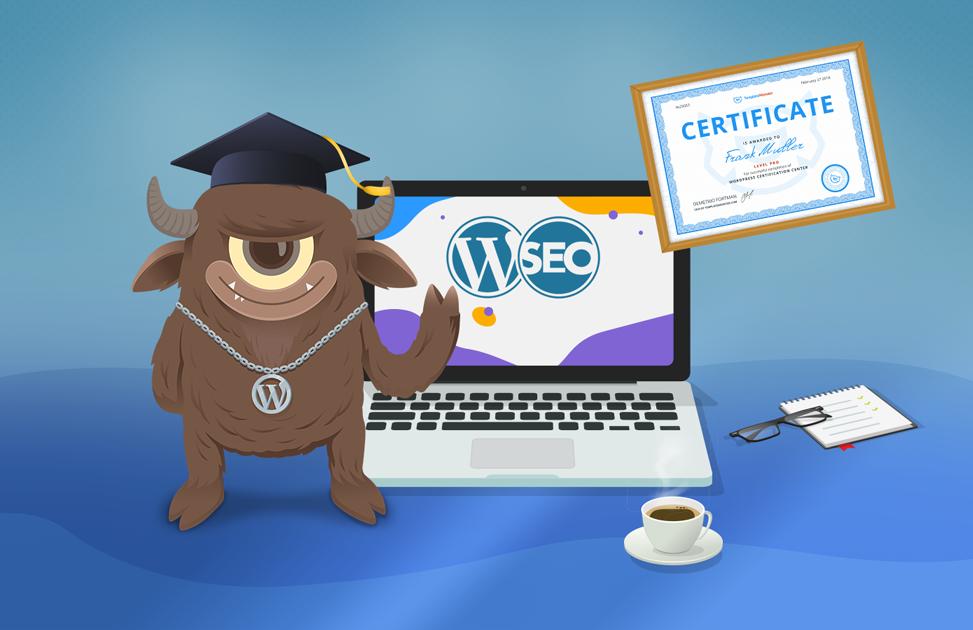 WordPress SEO Certification by TemplateMonster